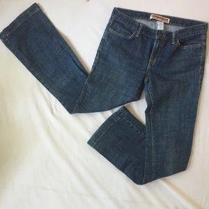 Gap Long & Lean medium wash stretch Jeans 6 R